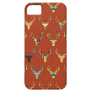 rétro reinette de tête de cerfs communs coques Case-Mate iPhone 5