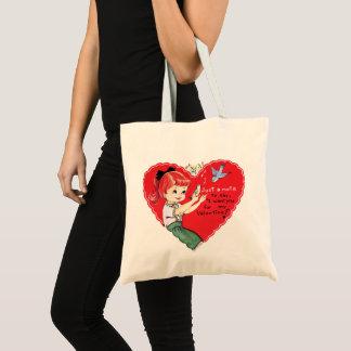 Rétro sac fourre-tout à vacances de Valentine de