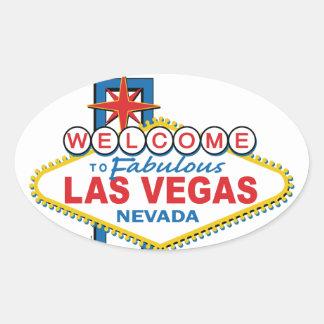 Rétro signe de Las Vegas Autocollant