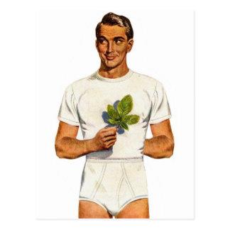 Rétro slip vintage Whitey Tighties de kitsch Carte Postale