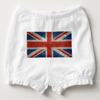 Rétro style de drapeau britannique BRITANNIQUE Bloomer Pour Bébé