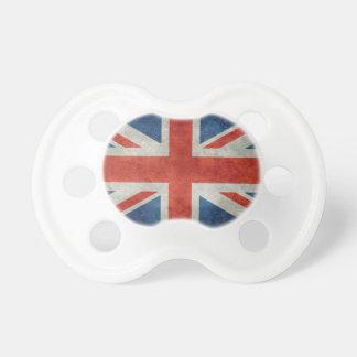 Rétro style de drapeau britannique BRITANNIQUE Tétines