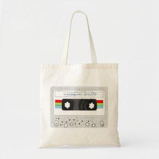 Rétro style de l'enregistreur à cassettes 80s sacs