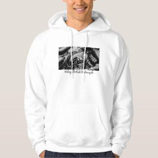 Rétro sweatshirt britannique de moto