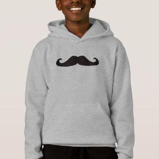 Rétro sweatshirt de hippies de moustaches de