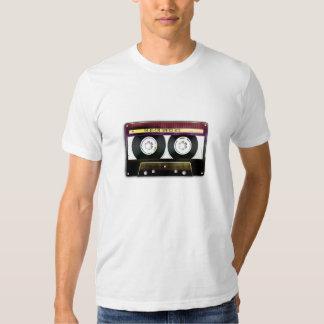 Rétro T-shirt compact de cassette audio