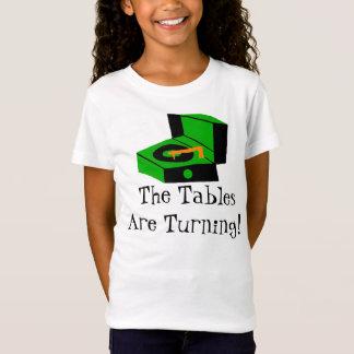 Rétro T-shirt de tourne-disque
