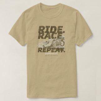 Rétro T-shirt de voiture affligé par classique