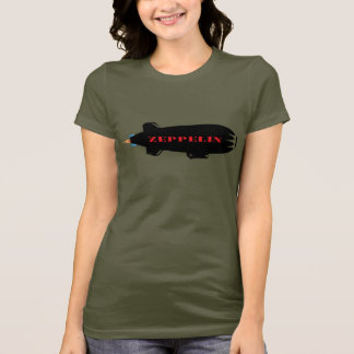 Rétro T-shirt de zeppelin