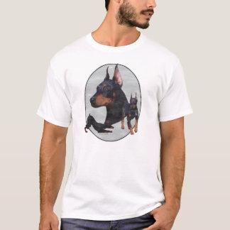 Rétro T-shirt détruit de 3 Dobes