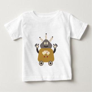 Rétro T-shirt idiot drôle de robot