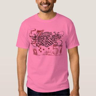 rétro T-shirt vintage de campus de regard