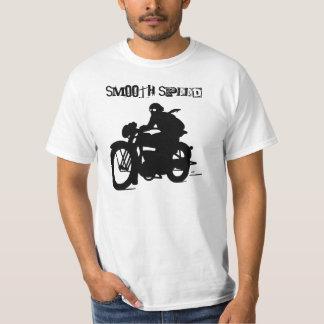 Rétro T-shirt vintage de silhouette de moto