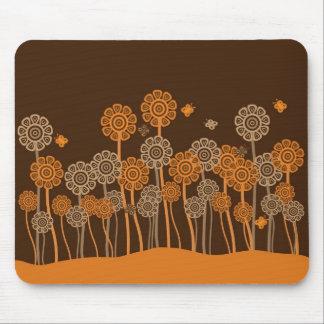 Rétro tapis génial de souris de jardin tapis de souris