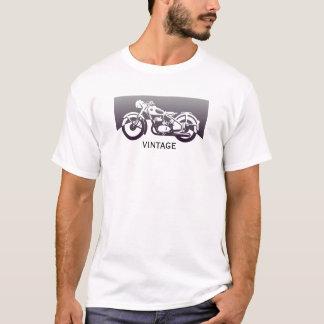 Rétro vélo vintage frais de moto des années 1950 t-shirt