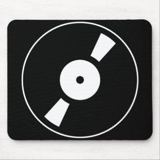 rétro vinly disque tapis de souris