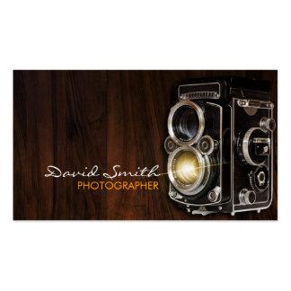 Rétro Vintage/camera Carte De Visite Standard