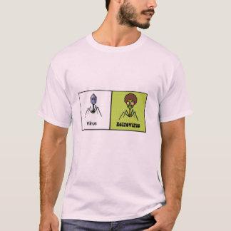 Rétro virus t-shirt