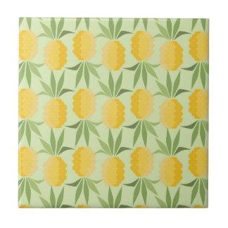 Rétros ananas petit carreau carré