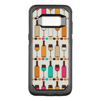 Rétros bouteilles et verres de vin coque samsung galaxy s8 par OtterBox commuter