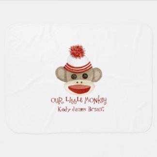 Rétros cadeaux de bébé de casquette de bas du couvertures pour bébé