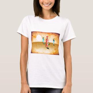 Rétros cadeaux vintages 36 de style de l'Afrique T-shirt