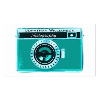 Rétros cartes de visite de photographie d'appareil carte de visite standard