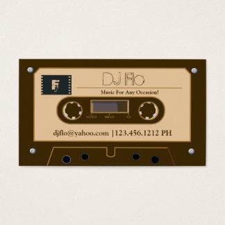Rétros cartes de visite faits sur commande du DJ