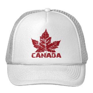Rétros casquettes de feuille d'érable du Canada de