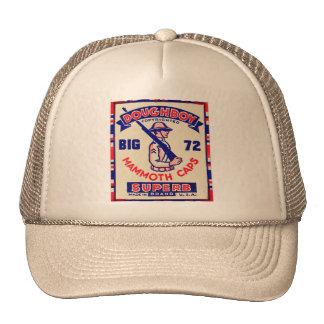 Rétros casquettes vintages de mammouth de Doughboy