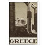 Rétros copies de voyage d'annonce vintage d'affich cartes postales
