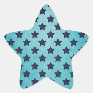 Rétros étoiles sticker étoile