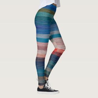 Rétros guêtres élégantes en pastel de réchauffeurs leggings