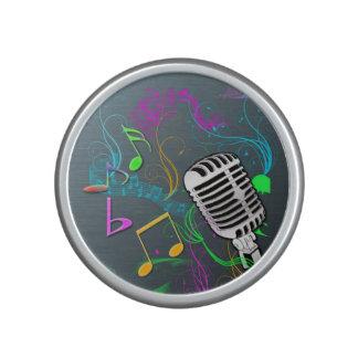 Rétros haut-parleurs de Bumpster de musique Haut-parleur
