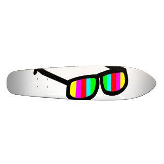 Rétros lunettes de soleil Longboard Skateboard 19,7 Cm