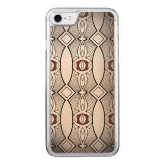 Rétros motifs coque carved pour iPhone 7