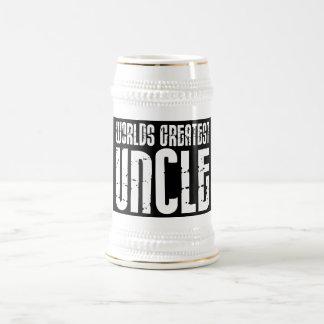 Rétros oncles frais vintages : Le plus grand oncle Chope À Bière