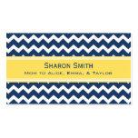 Rétros télécartes bleues jaunes de maman de Chevro Cartes De Visite Professionnelles