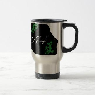 Réunion 974 - margouillat mug de voyage