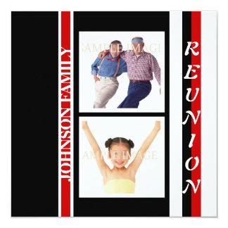 """Réunion de famille """"classe"""" de partie carton d'invitation  13,33 cm"""