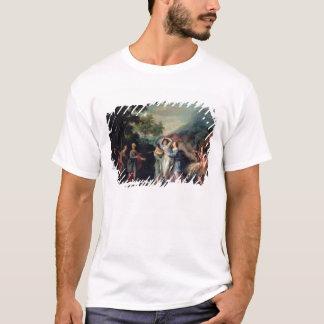 Réunion de Jacob et de Laban avec Rachel, Leah et T-shirt