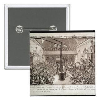 Réunion du club de Jacobin, janvier 1792 Badges