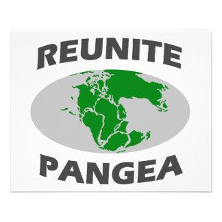 Réunissez Pangea Prospectus 11,4 Cm X 14,2 Cm
