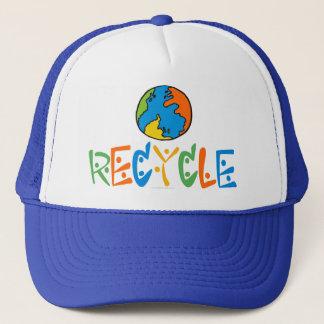 Réutilisation colorée casquette
