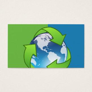 Réutilisation des cartes de visite de globe de