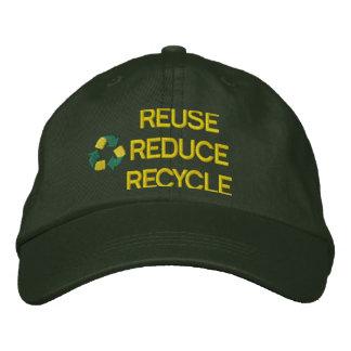 Réutilisation du casquette brodé