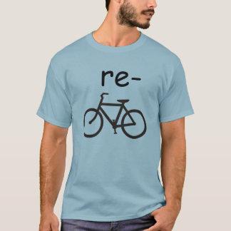 Réutilisez la bicyclette drôle t-shirt
