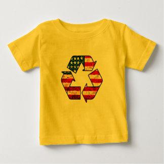 Réutilisez la chemise de bébé de l'Amérique T-shirt Pour Bébé