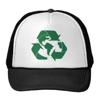 Réutilisez la terre casquettes de camionneur