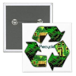 Réutilisez le bouton de l'électronique badge